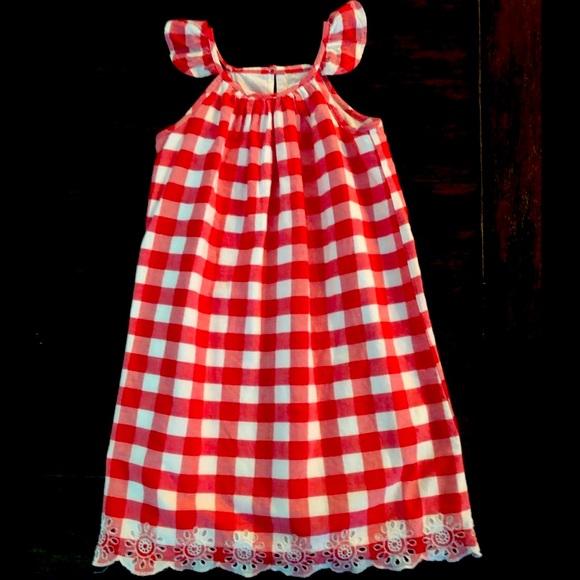 Gap Red & White Sun 4T Dress